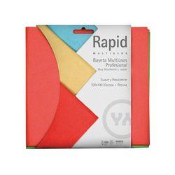 Bayeta microfibra Idea 3. Pack 3 un. 30x32 cm.