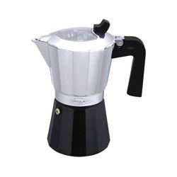 Cafetera aluminio para inducción. 9 tazas