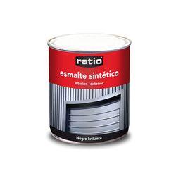 Esmalte sintetico brillante 750 ml color negro